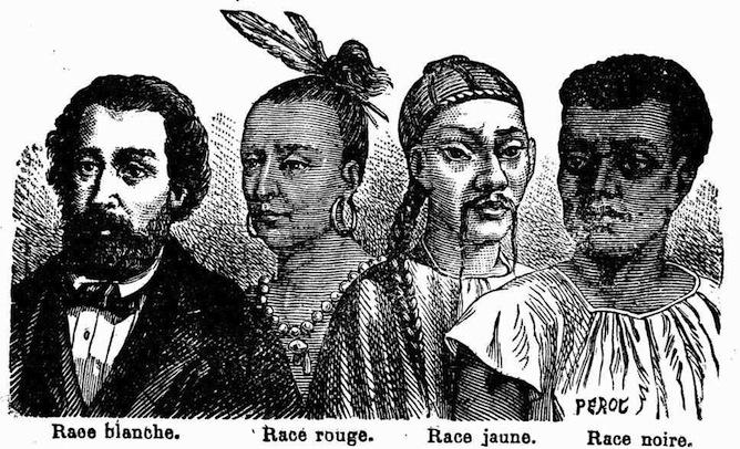 Les Quatre Races Dhomme