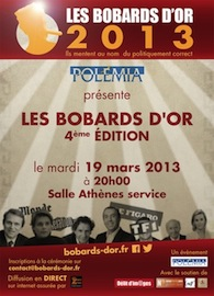 Bobards d'Or 2013, 19/03/2013, Salle Athènes sevice