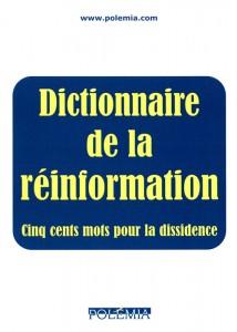 Le dictionnaire de la réinformation