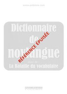 Le dictionnaire de la novlangue