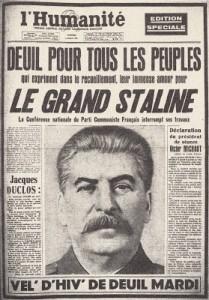 Humanité Staline