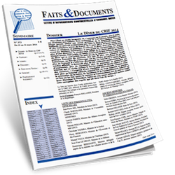 Faits & Documents bimensuel