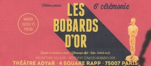 Les Bobards d'Or 2015