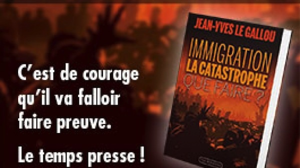«Immigration : la catastrophe. Que faire ?» de Jean-Yves Le Gallou