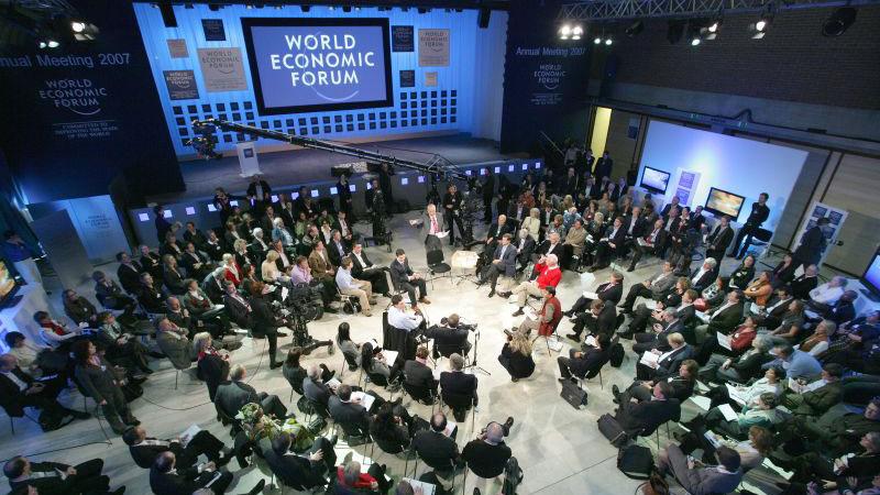 Trump et Macron à Davos : deux visions du monde