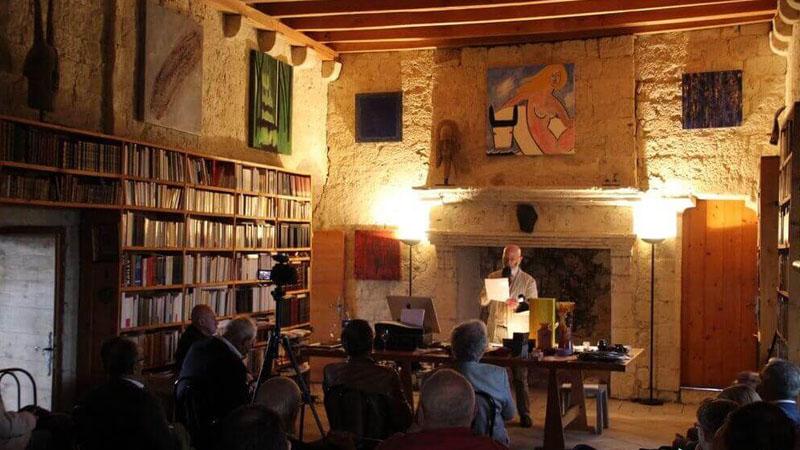 « Les Deux Récits », discours de Renaud Camus à Plieux