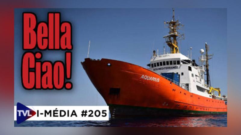 I-Média #205 : Bella Ciao Aquarius
