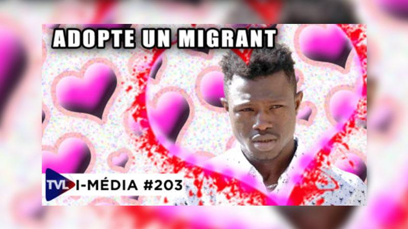 I-Média #202 Mamoudou, l'émotion au service de l'immigration