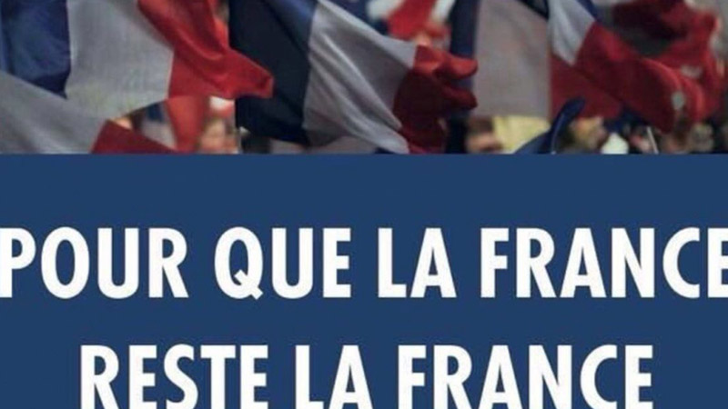 « Pour que la France reste la France », un slogan insupportable ?