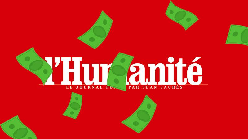 Le média communiste L'Humanité financé par Google !