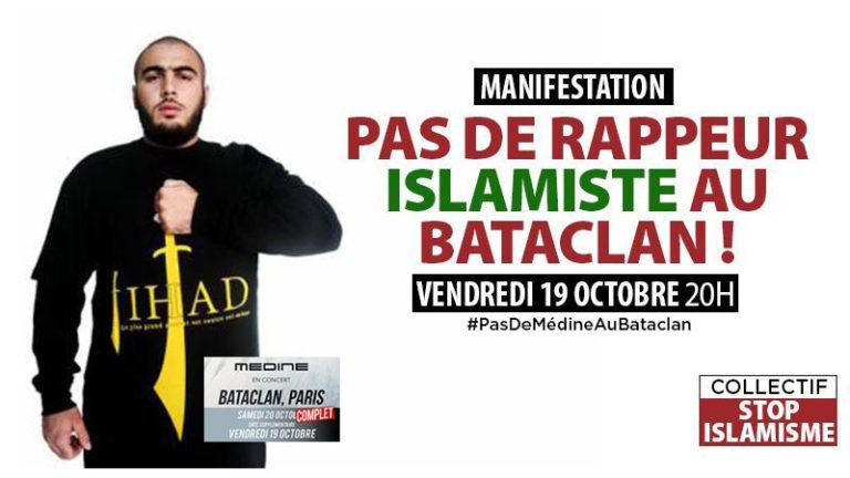 Le père d'une victime contre Médine au Bataclan, Jean-Yves Le Gallou salue Patrick Jardin