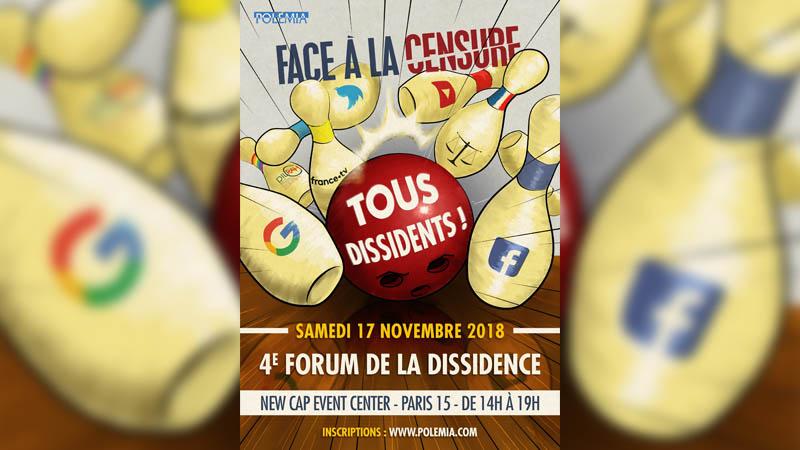 Jean-Yves Le Gallou sur TV Libertés pour présenter le Forum de la Dissidence
