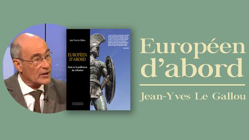 Jean-Yves Le Gallou en dédicace à la Nouvelle Librairie ce mardi