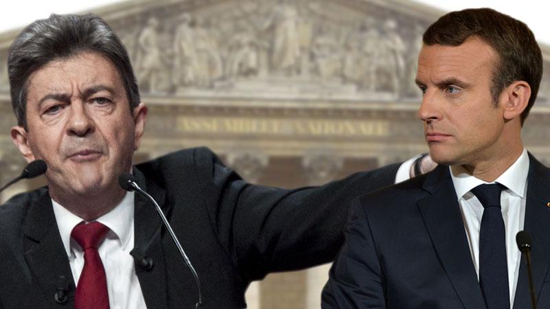 Qui porte le plus atteinte aux institutions? Mélenchon ou Macron?