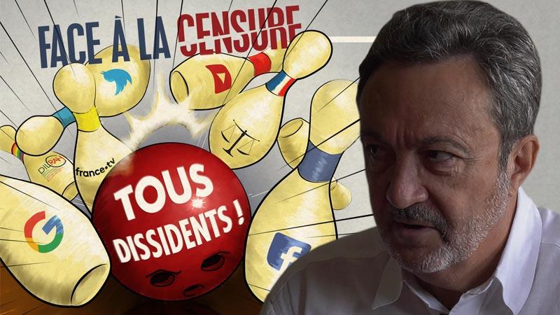 Claude Chollet sur la censure : « Les succès populistes inquiètent la super classe mondialisée ! »