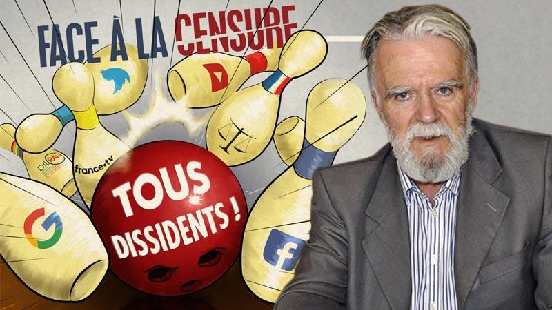 Christian Combaz sur la censure : « Personne n'a jamais gagné contre le peuple ! »