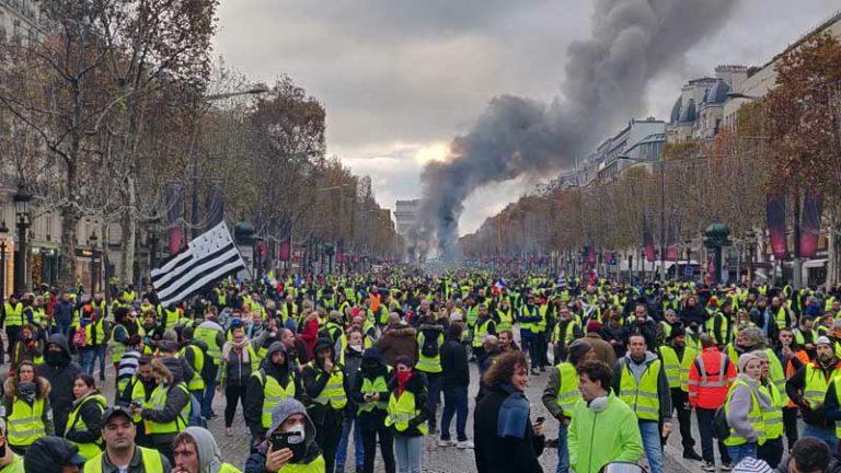Révolte des Gilets Jaunes: l'histoire est bien le lieu de l'imprévu!