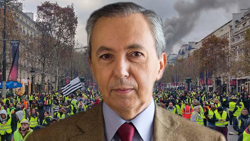 Bruno Mégret : « Les gilets jaunes devraient exiger la fin du mondialisme économique et migratoire »