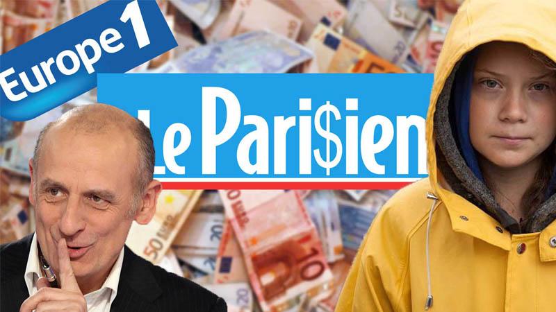 I-Média n°239 – 500M€ pour Le Parisien, Europe 1-punité, Climato-fanatisme