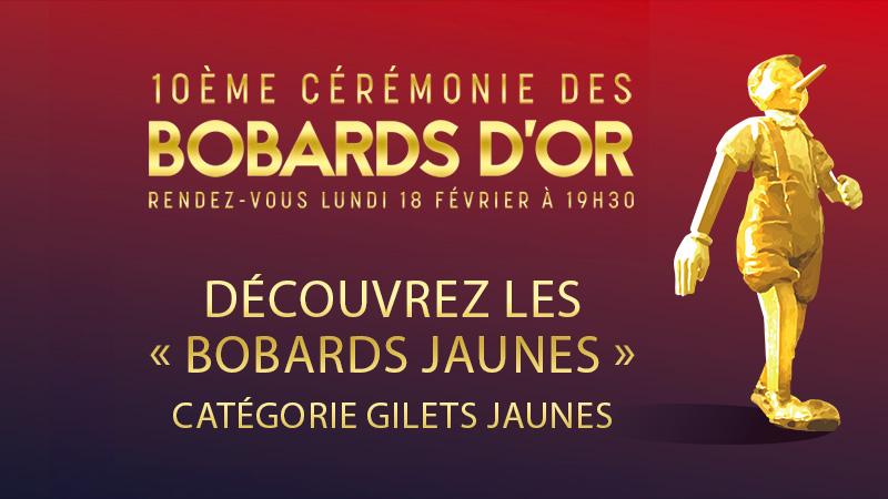"""Bobards d'Or 2019 : découvrez les 5 """"Bobards Jaunes"""""""