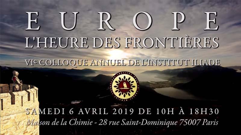 Europe, l'heure des frontières. 6e colloque de l'Institut Iliade [Vidéo]