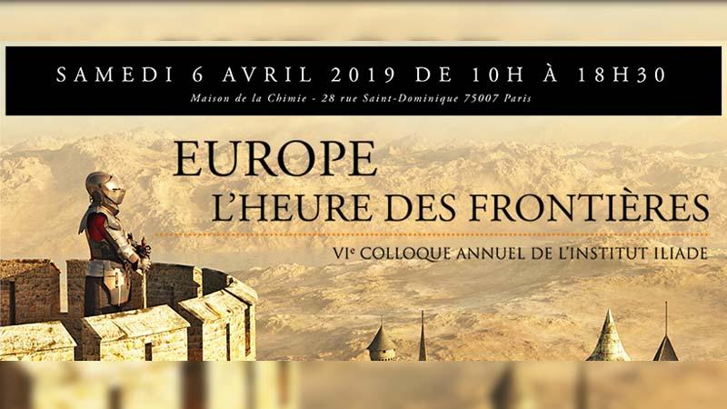 Europe, l'heure des frontières – Colloque Iliade 2019, par Jean-Yves Le Gallou sur Radio Courtoisie