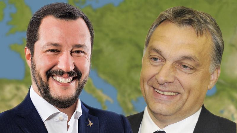 Au Parlement européen, vers une alliance Orbán-Salvini ?