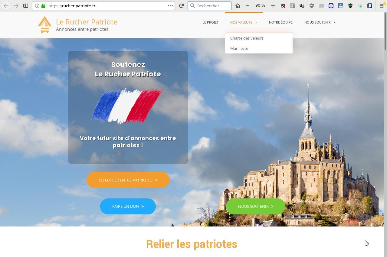 Le Rucher Patriote, premier site d'annonces entre patriotes
