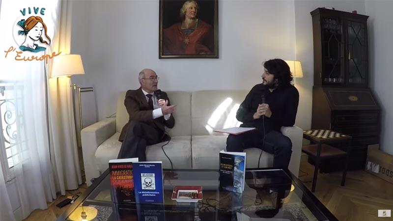 Jean-Yves Le Gallou s'entretient avec Daniel Conversano [Vive L'Europe, mars 2019]