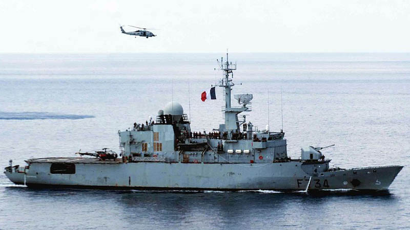 Incident franco-chinois dans le détroit de Taiwan : recadrage d'un général