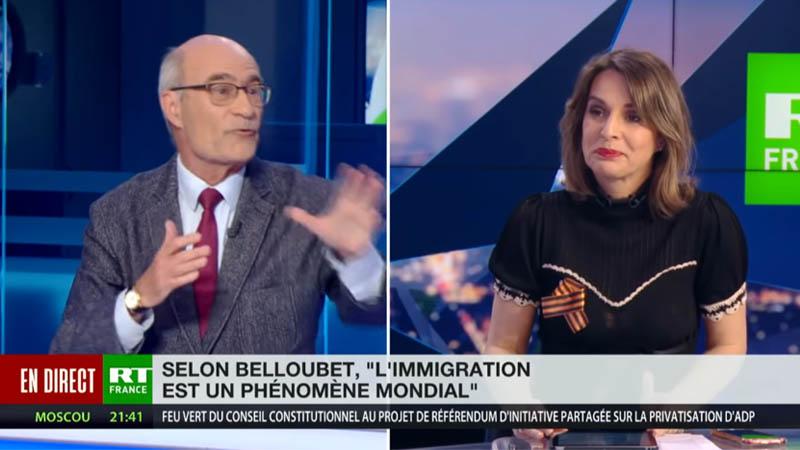 Jean-Yves Le Gallou sur RT : « On peut agir contre l'invasion migratoire à l'échelle européenne ! »