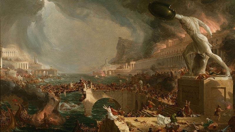 Nous risquons de disparaître de la même manière que les Romains