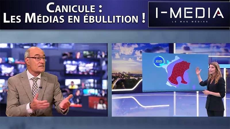 I-Média n°256 – Canicule : les médias en ébullition !