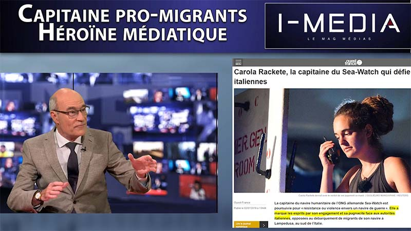 I-Média n°257 – Carole Rackete, capitaine pro-migrant, héroïne médiatique