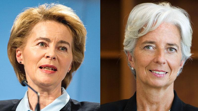 Deux femmes au pouvoir, l'Europe est sauvée !