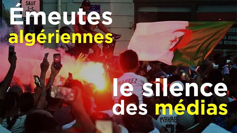 I-Média n°260 – Émeutes algériennes : le silence des médias