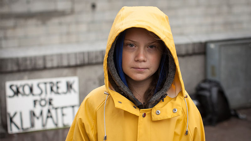 Greta Thunberg. Le monde où les enfants sont rois