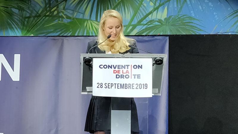 Marion Maréchal : « Le premier grand défi, le plus vital, est le Grand Remplacement ! »