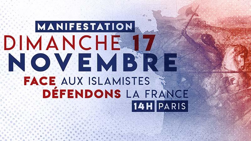 «Face aux islamistes, défendons la France !»