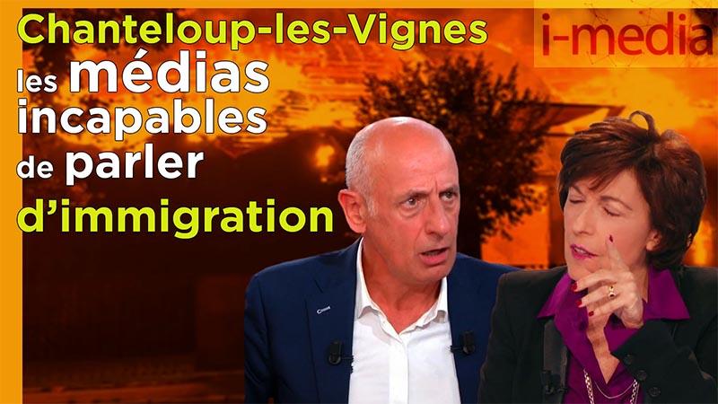 I-Média n° 271 – Émeutes à Chanteloup, les médias incapables de parler d'immigration