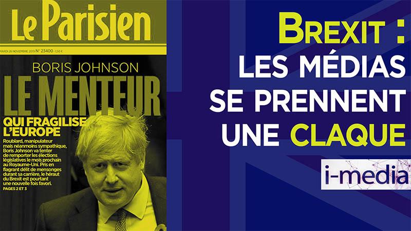 I-Média n°277 – Brexit : les médias se prennent une claque