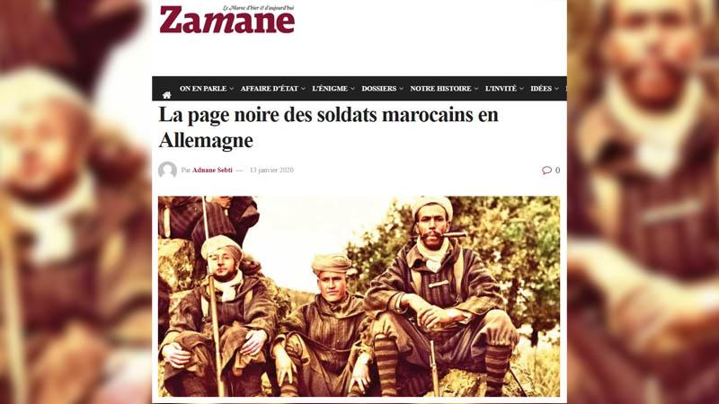 Les crimes de guerre marocains en Europe évoqués... dans la presse marocaine