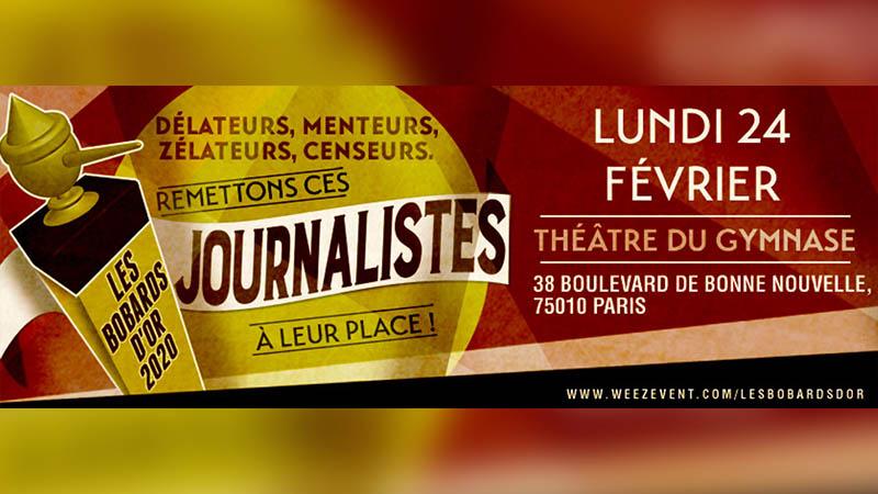 Jean-Yves Le Gallou : «Avec les Bobards d'Or, cela fait 10 ans que nous dénonçons les bobards des médias !»