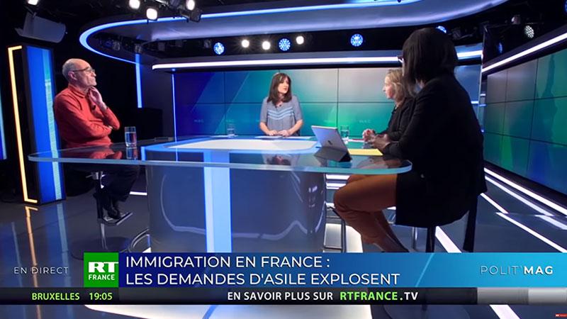 Immigration en France : des chiffres faux ? Débat sur RT France