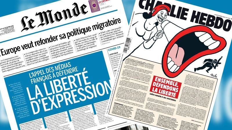 L'arnaque de la mobilisation médiatique pour la liberté d'expression