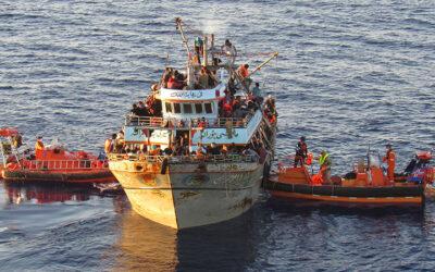 En 2020, une immigration importante malgré le Covid-19 – En 2021, la tempête migratoire