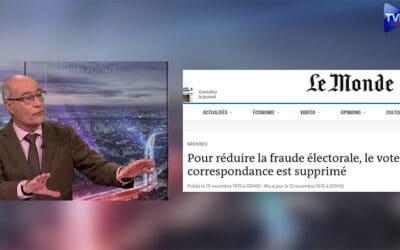 Jean-Yves Le Gallou : « La fraude électorale aux États-Unis est certaine ! »