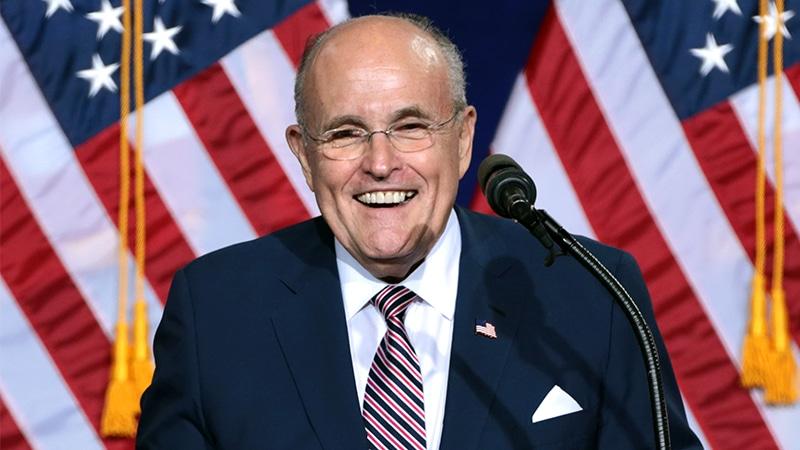 Rudy Giuliani : « Je peux prouver que Donald Trump a gagné ! »