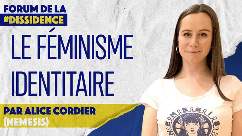 Le féminisme identitaire de Némésis au Forum de la Dissidence