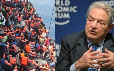 ONG, Soros et médias… tous unis contre la défense des frontières européennes et Frontex